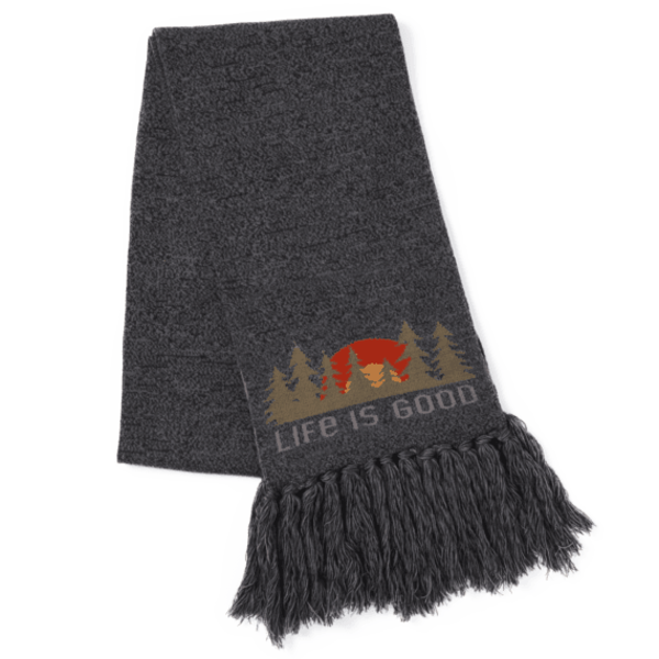 Life is Good Reversible Life is Good Scarf, Mountain Scene