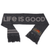 Reversible Life is Good Scarf, Mountain Scene