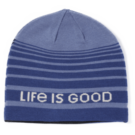 Life is Good Reversible Beanie, Life is Good, Night Black