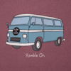 Men's L/S Cool Tee, Ramble On Bus