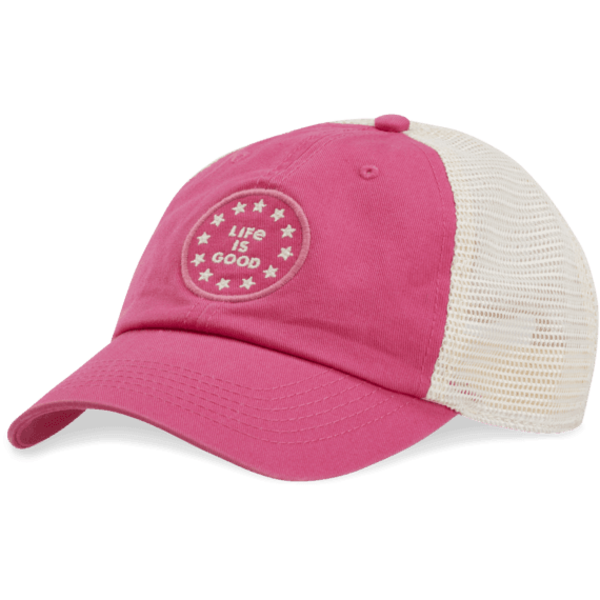Soft Mesh Back Chill Cap, LIG Stars