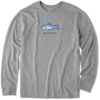 Men's Crusher L/S Tee Good Catch Fish