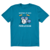 Men's Crusher Tee, Weapons of Mass Percussion