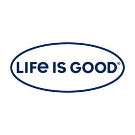Life is Good Life is Good Window Decal