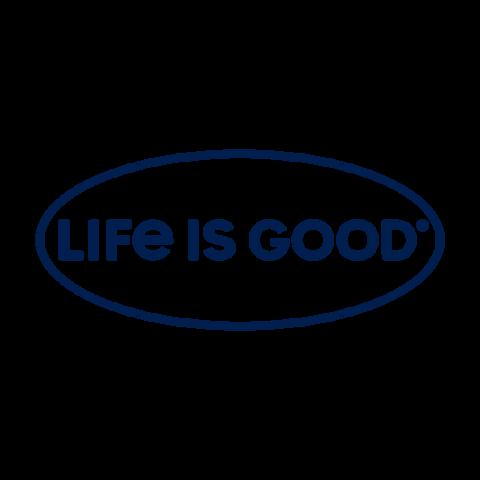 Life is Good Window Decal