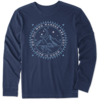 Men's Crusher L/S Tee Not All Who Wander