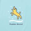 Men's Crusher L/S Tee, Powder Hound