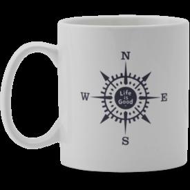 Jake's Mug, LIG Compass, Cloud White