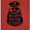 Men's Cool Tee, Work Like a Pirate