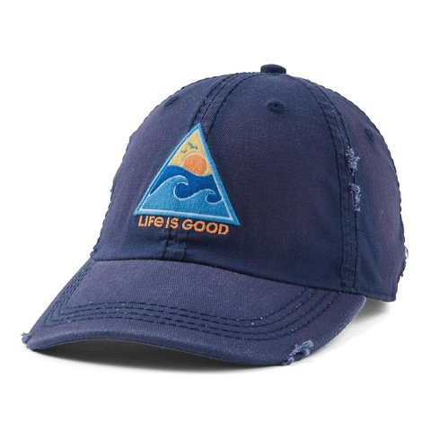Sunwashed Chill Cap, Waves of Life, Darkest Blue
