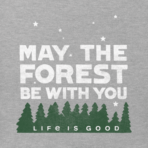 Boys Crusher Tee, May the Forest