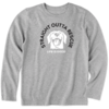 Boys L/S Crusher Tee, Straight Outta Rescue