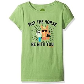 Life is Good Girls Crusher Tee, May the Horse