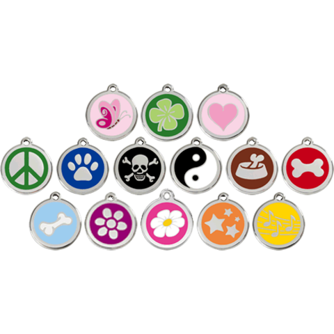 Red Dingo Pet ID Tag