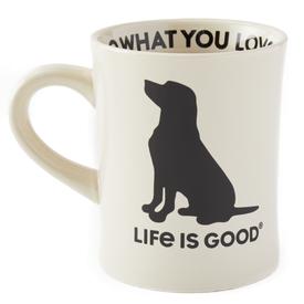 Diner Mug, LIG Dog, Bone