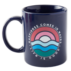 Jake's Mug, Happiness Comes in Waves, Darkest Blue
