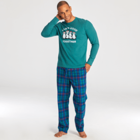 Men's Classic Sleep Pant, Holiday Plaid
