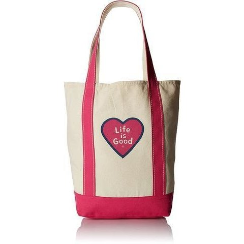 Carry On Canvas Tote - Heart