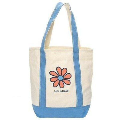 Carry On Canvas Tote - Daisy