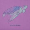 Womens Crusher Tee, Sea Turtle
