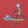 Men's Crusher Tee, Vintage Jake Lawnmower