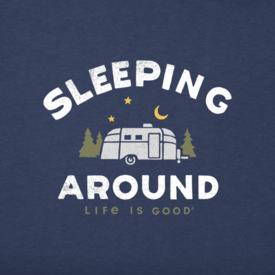Men's Crusher Tee, Sleeping Around Camper