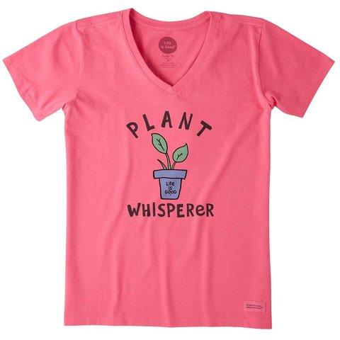 Womens Crusher Tee, Plant Whisperer