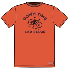 Men's Crusher Tee, Downhill Time Bike