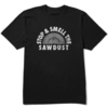 Men's Crusher Tee, Stop & Smell the Sawdust