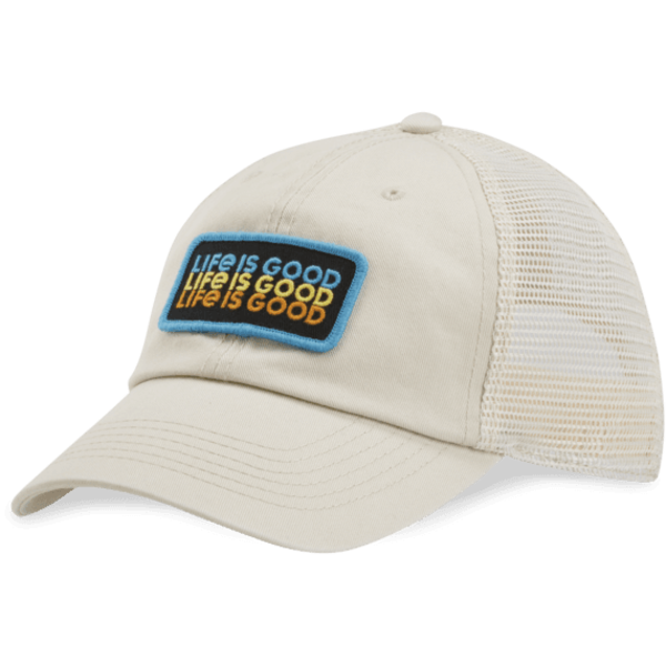 Soft Mesh Back Chill Cap, Life is Good
