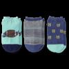 Boys 3-Pack Low Cut Socks, Rocket & Football