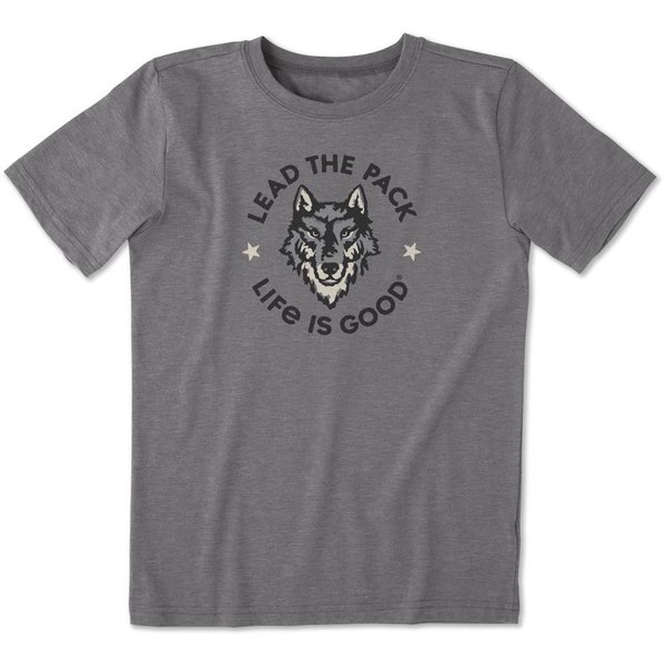 Life is Good Boys Cool Tee, Lead the Pack