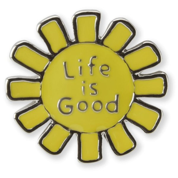 Life is Good Sun Pin