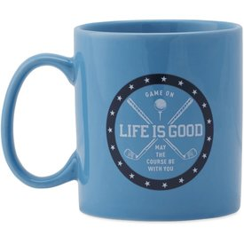 Jake's Mug, May the Course be With You, Powder Blue