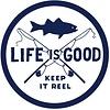 LIG Sticker Keep it Reel Fishing