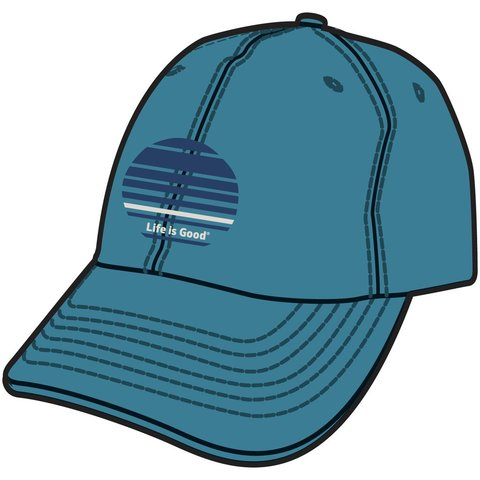 Chill Cap, LIG Stripes, Denim Blue