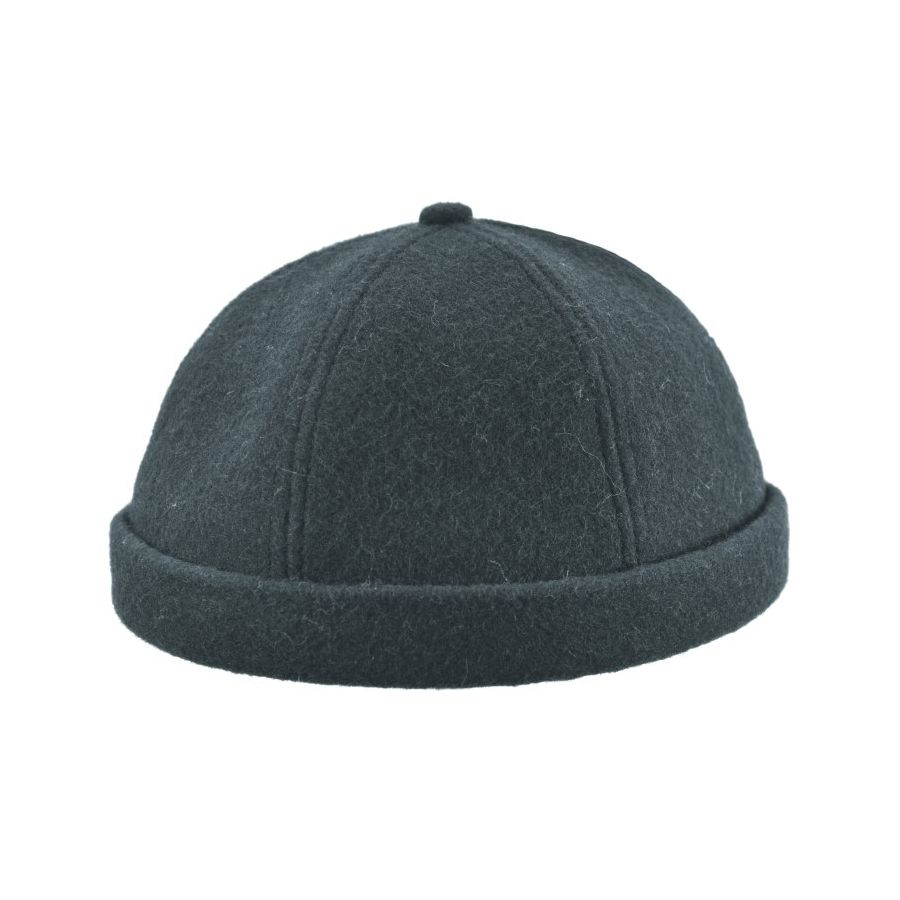 Melton Wool Beanie, Made in Canada