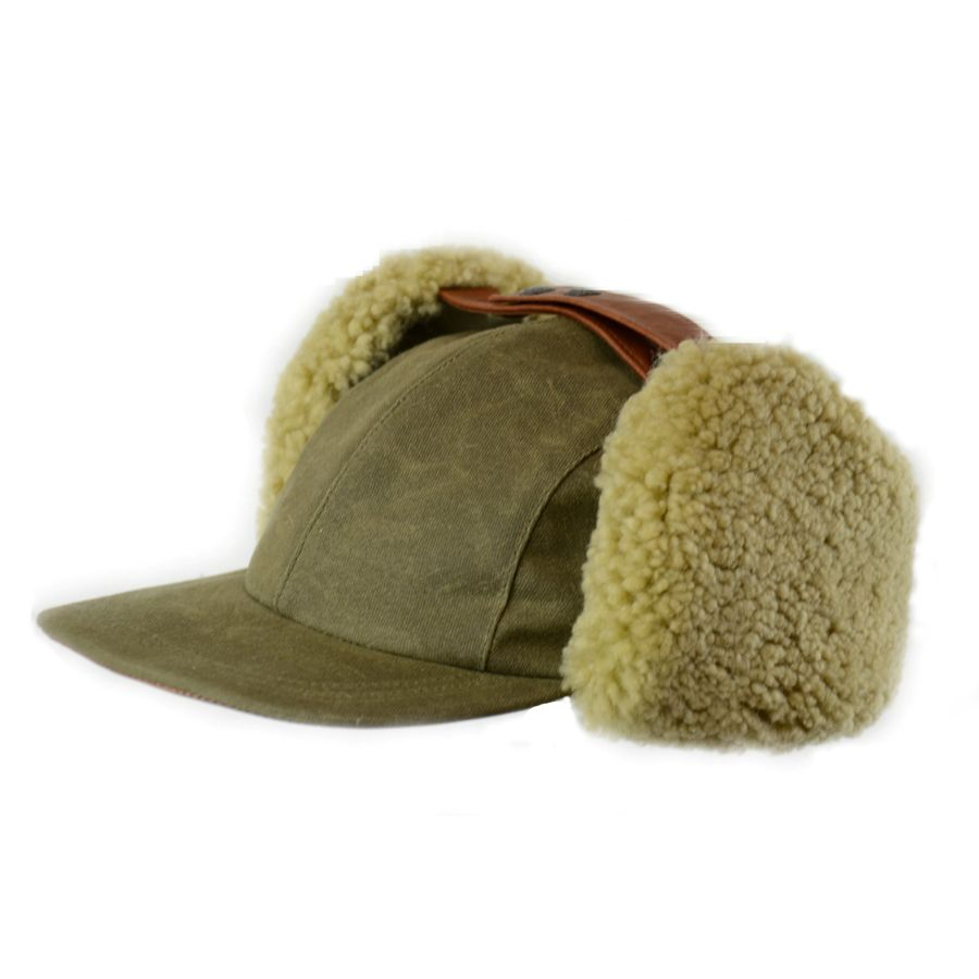 Shearling Fudd Cap, Made in Canada