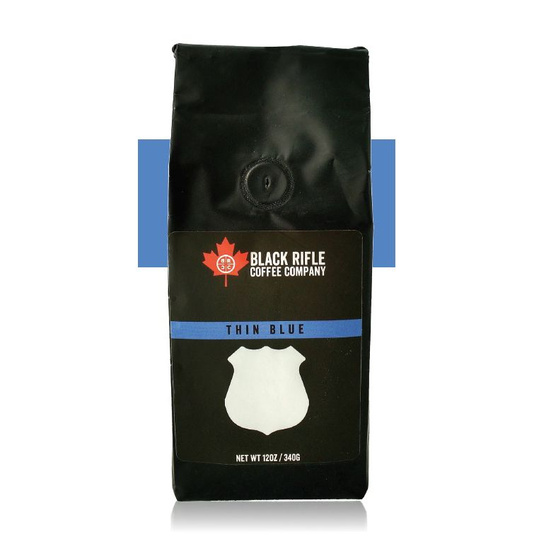 BLACK RIFLE COFFEE Thin Blue Line Coffee, Limited Edition