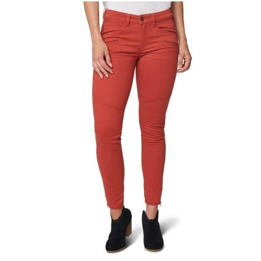 5.11 TACTICAL Women's Wyldcat Pant, Rosewood