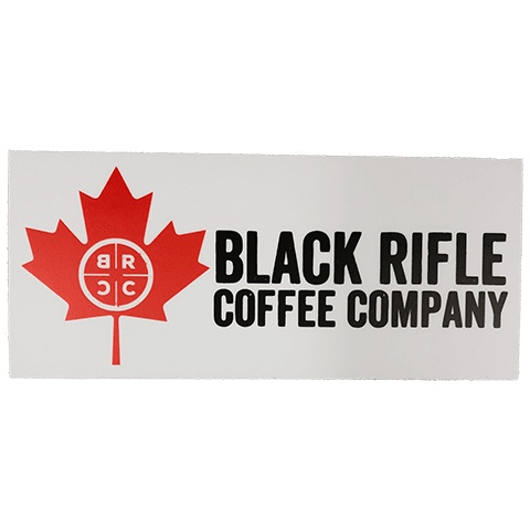 BLACK RIFLE COFFEE BBRC Canada Sticker