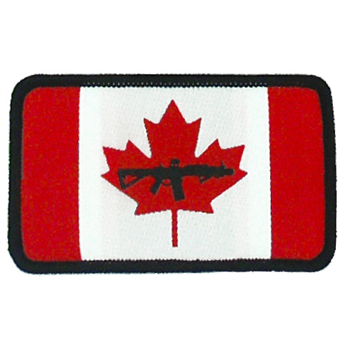 BLACK RIFLE COFFEE BBRC Canadian Flag Patch