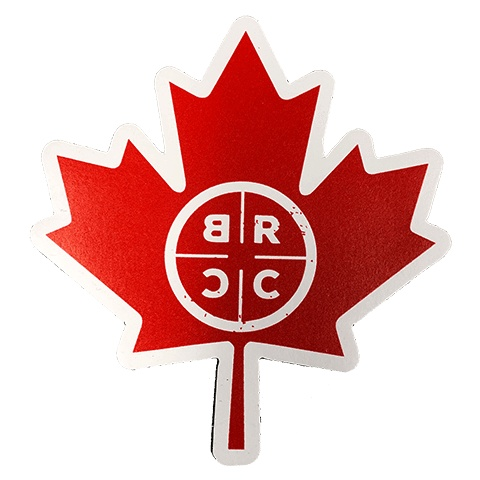 BLACK RIFLE COFFEE BBRC Canada Leaf Magnet