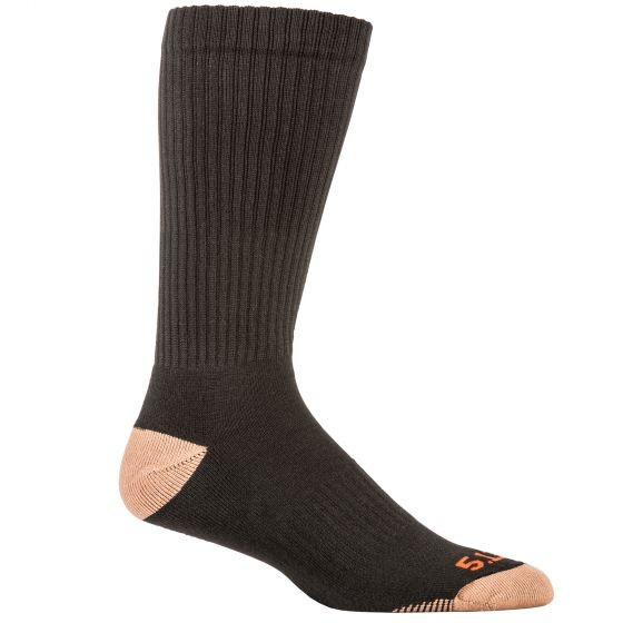 5.11 TACTICAL Cupron 3 Pack Crew Socks
