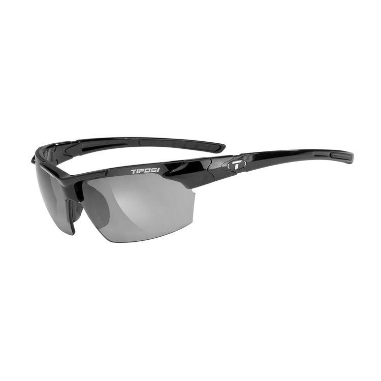TIFOSI Jet FC, Gloss Black Frame, Smoke Lens