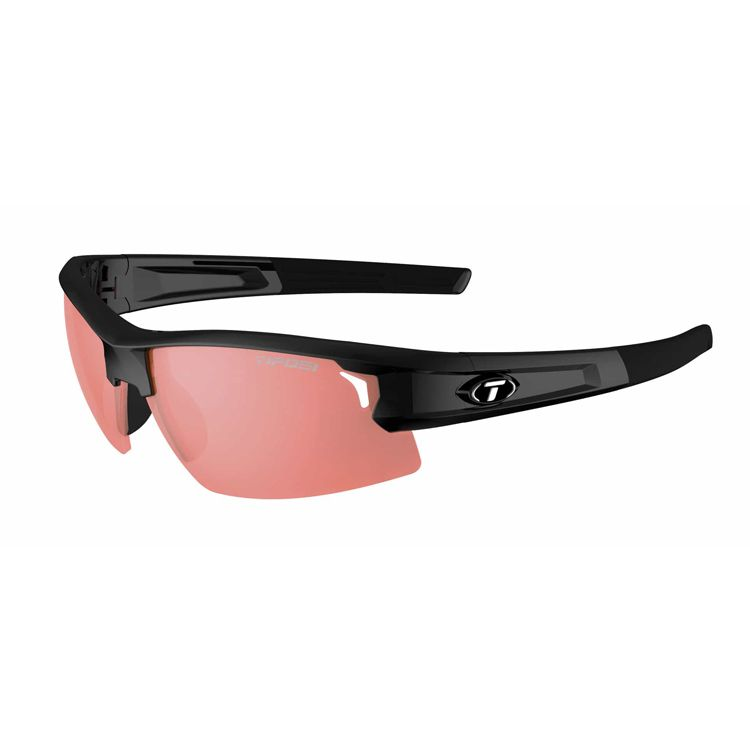 TIFOSI Synapse, Gloss Black Frame, Red Lens Photochromic
