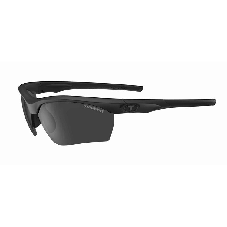 TIFOSI Vero Tactical (Z87.1), Matte Black Frame, Smoke Polarized Lenses