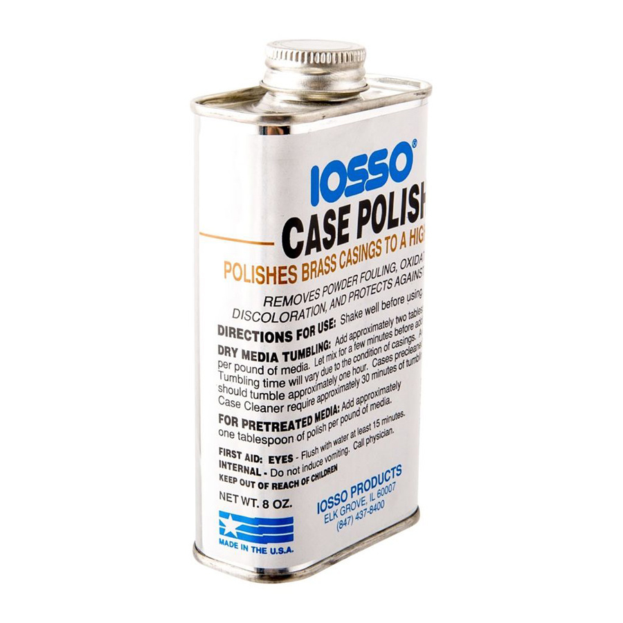 IOSSO Products Case Polish 8 oz