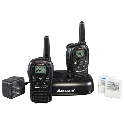 MIDLAND LXT500 2-Way Radio, 38 KM Range