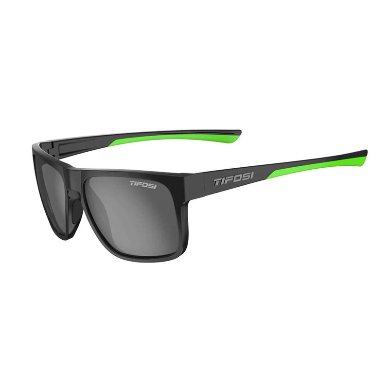 TIFOSI Swick, Satin Black/Neon, Smoke Polaried